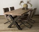 Baumstamm Tisch Xabia_