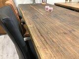Wildeichen Baumstamm Tisch 180 cm