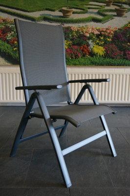 Suns Lecce Verstellbarer Gartenstuhl aus Aluminium