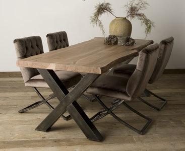 Baumstamm Tisch Xabia