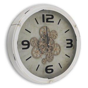 Industrielles Uhr Weiss