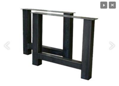 Tischbeine stahl model H