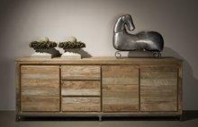 Sideboard teakholz 220 cm
